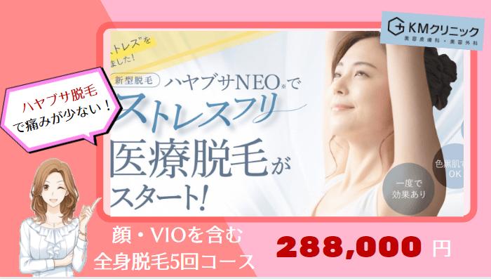 KMクリニック東京全身紹介画像