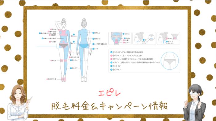 エピレの脱毛料金&キャンペーン情報