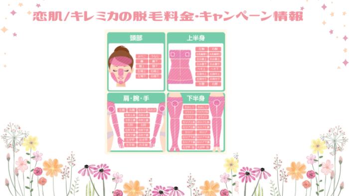 恋肌_キレミカ脱毛料金&キャンペーン情報