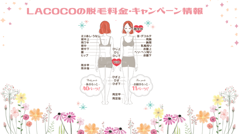 LACOCO脱毛料金&キャンペーン情報