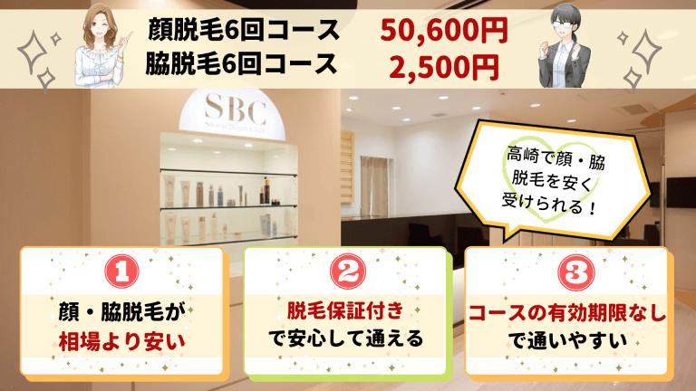 湘南美容クリニック高崎顔・脇紹介画像