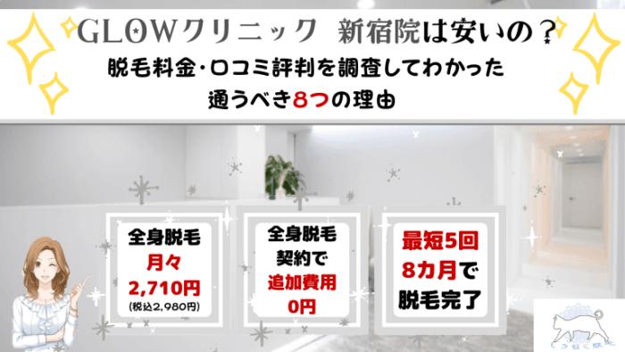 GLOWクリニック新宿