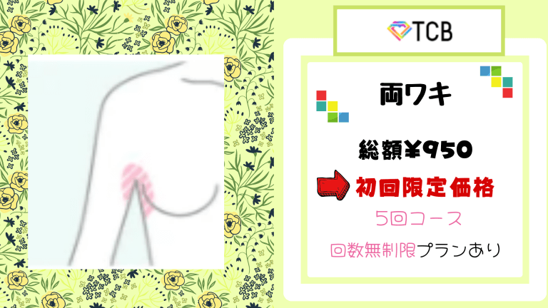 TCB東京中央美容外科おすすめプラン