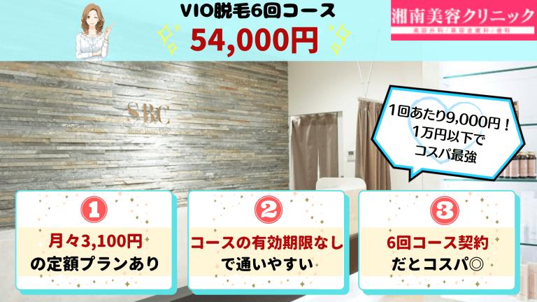 湘南美容クリニック四条・烏丸VIO紹介画像